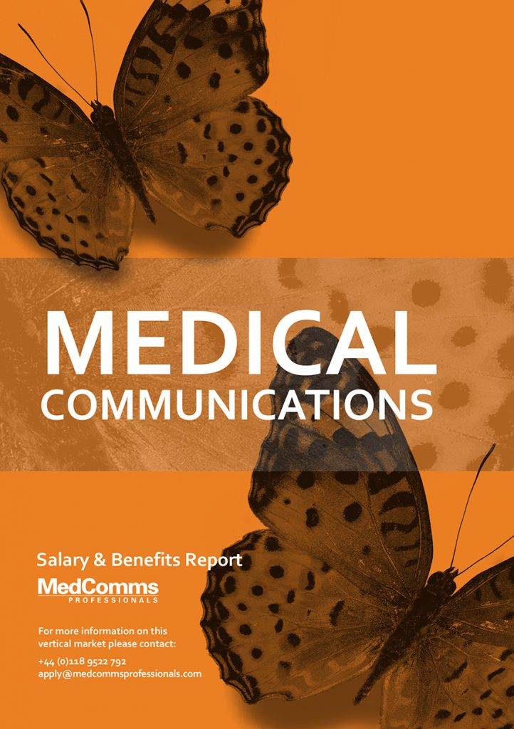 MedComms Salary and Benefits Report Cover